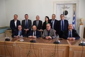 Συνεργασία (ΕΦΕΠΑΕ) με την Περιφέρεια Πελοποννήσου (video - pics)
