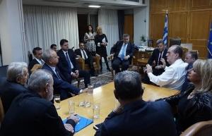 Συνάντηση του περιφερειάρχη Π. Νίκας με δημάρχους της Μεσσηνίας