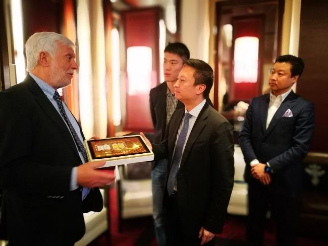"""Περιφερειάρχης Πελοποννήσου """"Οικοδομούμε σχέσεις βιώσιμης συνεργασίας μεταξύ της Περιφέρειας Πελοποννήσου και Κινεζικών Επαρχιών"""""""
