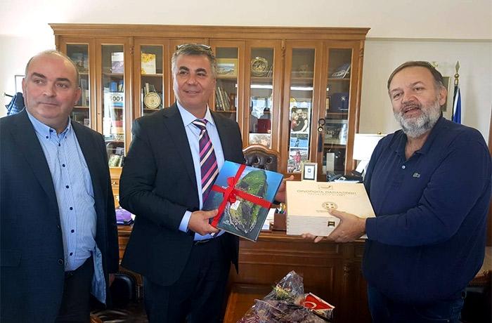 Τρίπολη | Τούρκοι αξιωματούχοι επισκέφθηκαν την Περιφέρεια Πελοποννήσου