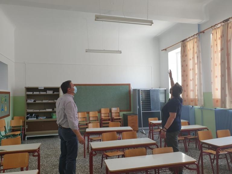 Εργασίες συντήρησης και αποκατάστασης στα σχολικά κτήρια του Δήμου Βόρειας Κυνουρίας