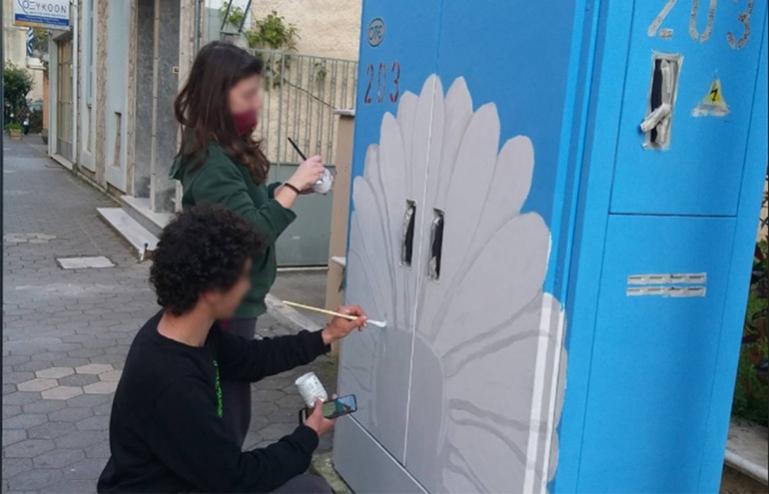 Κώστας Τζιούμης: «Δίνουμε χρώμα στις γειτονιές της Τρίπολης»