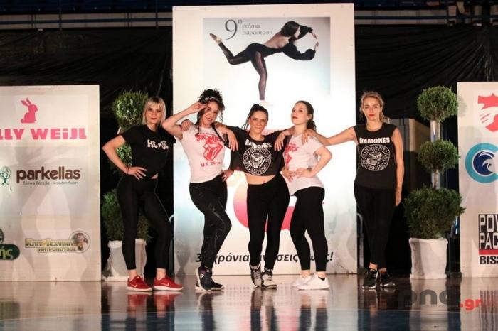 """Πραγματοποιήθηκε η ετήσια παράσταση του Γυμναστηρίου """"Top Gym"""" στο ΔΑΚ Τρίπολης (pics)"""
