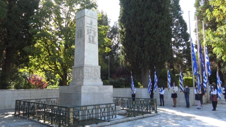 Επιμνημόσυνη Δέηση και κατάθεση στεφάνων για την 28η Οκτωβρίου στην Τρίπολη (pics-vid)
