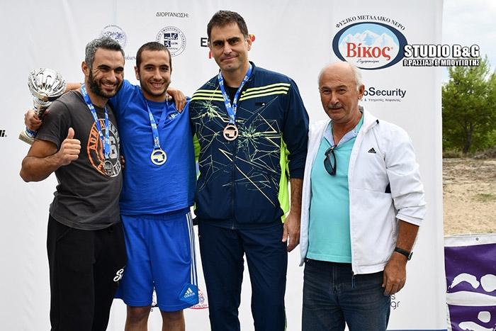 Δεύτερος ο Αρκάς Χρήστος Παναγιωτόπουλος στο Energy Triathlon Tolo 2018