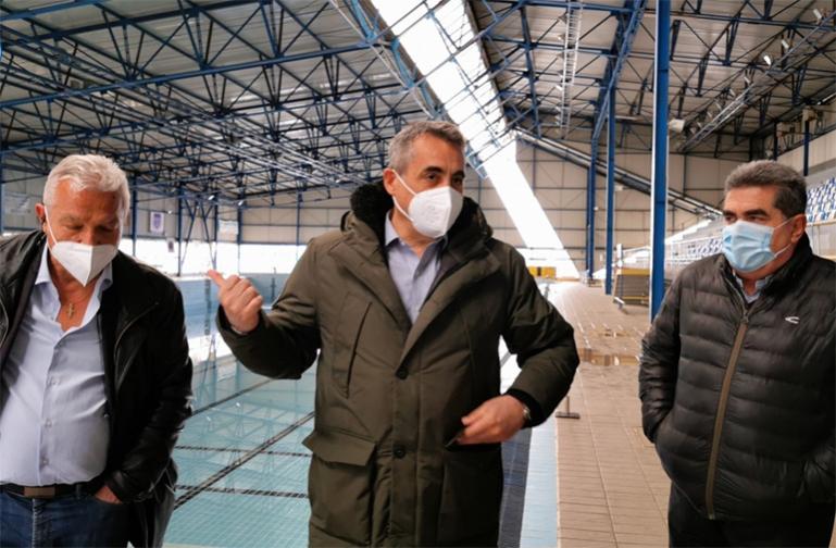 Ξεκινούν άμεσα οι εργασίες ενεργειακής αναβάθμισης του κλειστού κολυμβητηρίου της Τρίπολης