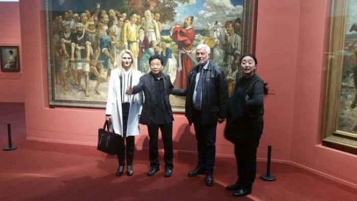 Συνεργασία στον τομέα του πολιτισμού μεταξύ Περιφέρειας Πελοποννήσου και Εθνικού Μουσείου στο Πεκίνο (pics)