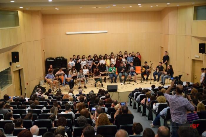 Το Μουσικό Σχολείο Τρίπολης υποδέχτηκε το καλοκαίρι με μια μοναδική συναυλία (video - pics)