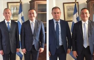 Συναντήσεις Υφυπουργού Εξωτερικών, Κωνσταντίνου Βλάση, με τους Πρέσβεις της Αρμενίας και Ρωσίας