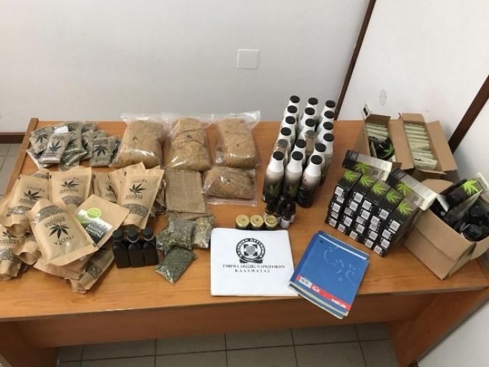 Συνελήφθησαν δύο άτομα για ναρκωτικά στη Μεσσηνία