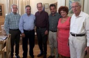 Συνάντηση Νίκα με την Παναρκαδική Ομοσπονδία και επίσκεψη στο Πολεμικό Μουσείο Τρίπολης