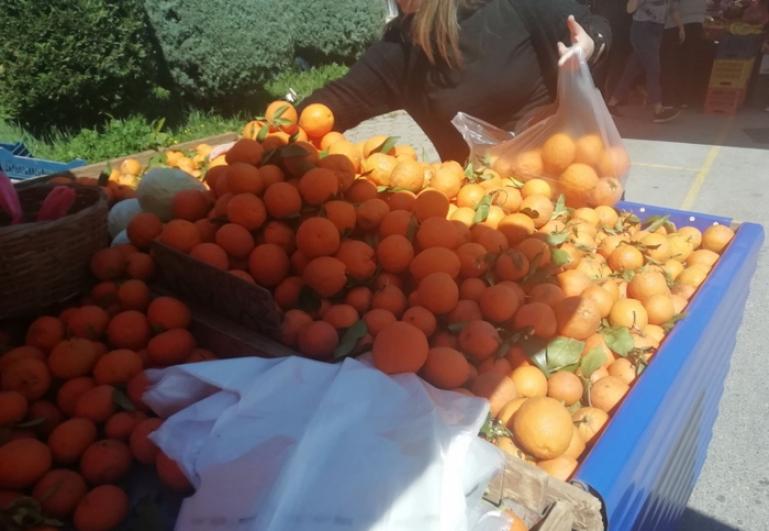 Λειτουργία Λαϊκών Αγορών Δήμου Τρίπολης (8/5/2021)