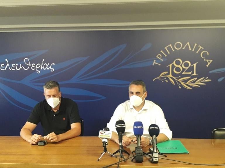 Σύμβαση για έργα αγροτικής οδοποιίας υπέγραψε ο Δήμαρχος Τρίπολης