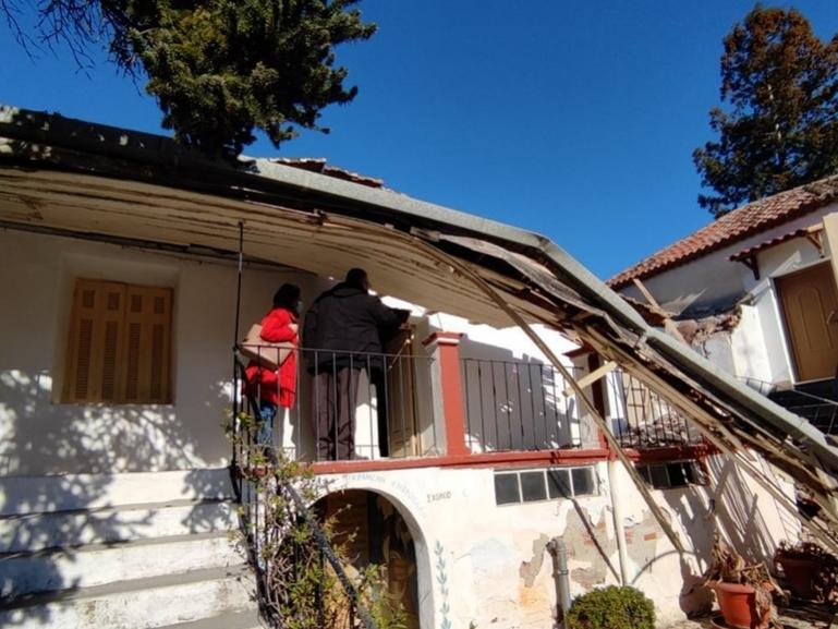 Εργολαβία αποκατάστασης των βλαβών στη Μονή Καλτεζών