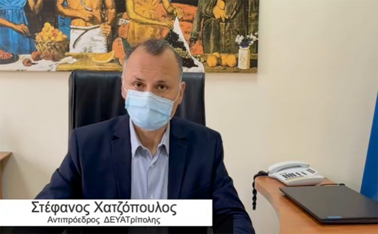 Στέφανος Χατζόπουλος: «Αντικαθιστούμε όλα τα παλαιά δίκτυα ύδρευσης»