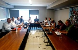 Συνάντηση εκπροσώπων 5 πόλεων για το 2021